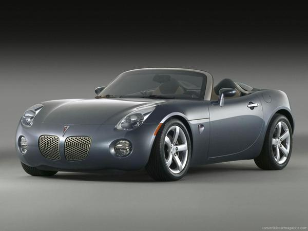 2007 Pontiac Solstice Gxp 12345666mac Registry The